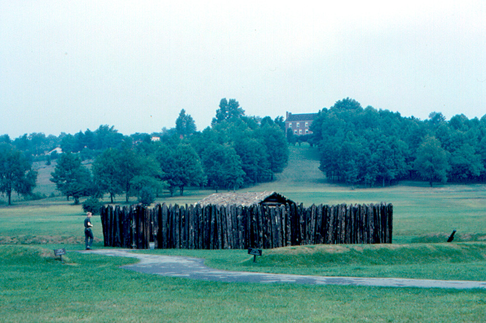 Fort Necessity, near Uniontown | Fort Necessity is the ...
