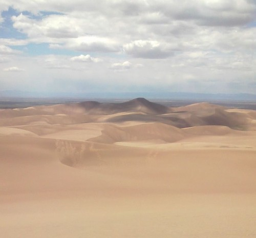 Star Dune from High Dune | Star Dune is highest dune in ...