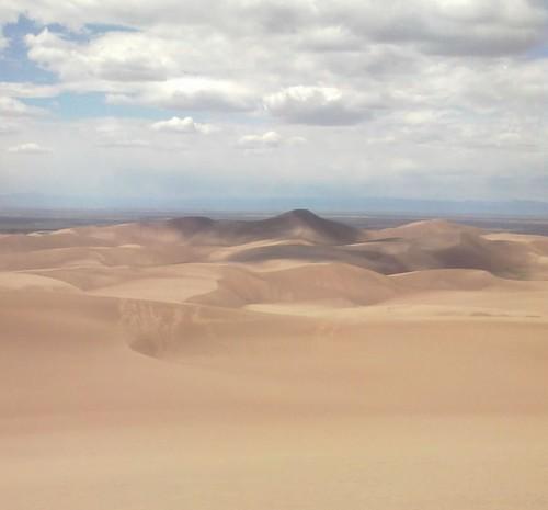 Star Dune from High Dune | Star Dune is highest dune in ...
