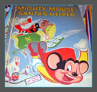 1955, Mighty Mouse - Santa's Helper, Children's book | by mcudeque