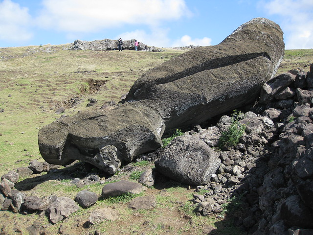The Moai Heads On Easter Island Have Bodies Hoax