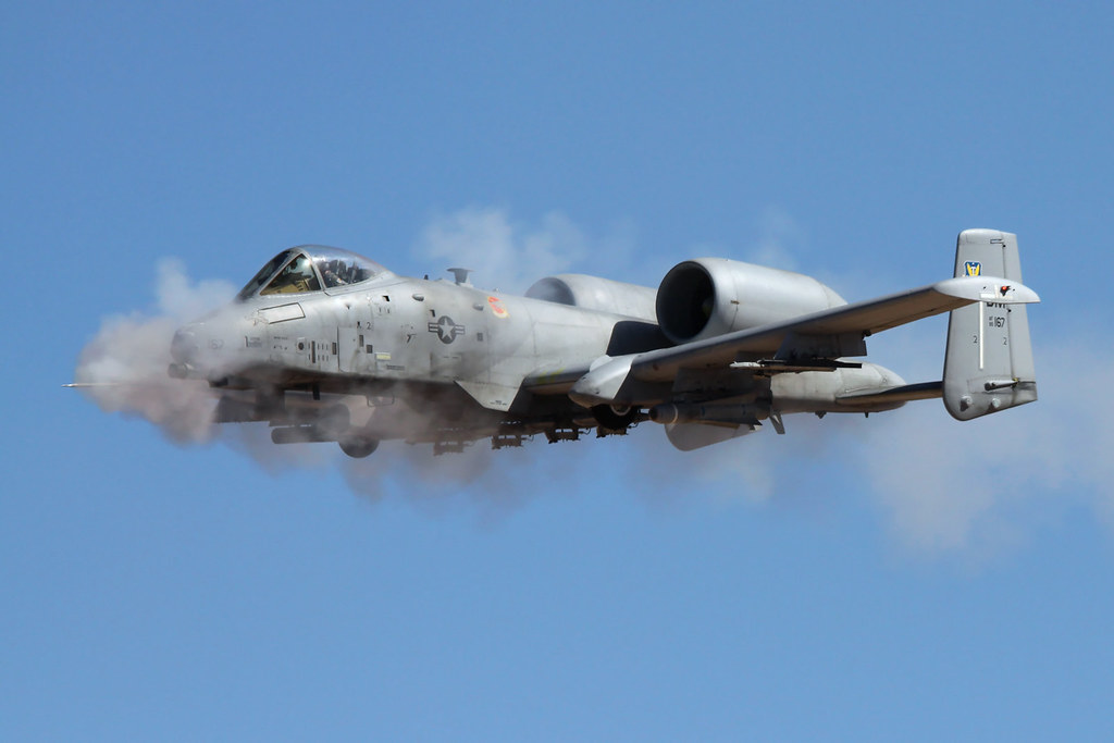 "Fairchild-Republic A-10C Warthog s/n 80-0167, 358th FS ""Lo ..."