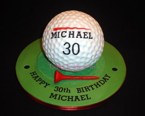How To Make A Golf Cake Video