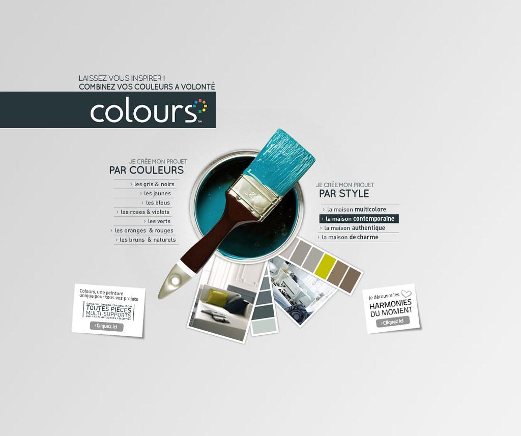 01 nuancier interactif colours laissez vous inspirer for Nuancier interactif castorama