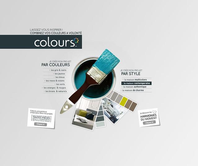 01 nuancier interactif colours flickr photo sharing for Nuancier interactif castorama