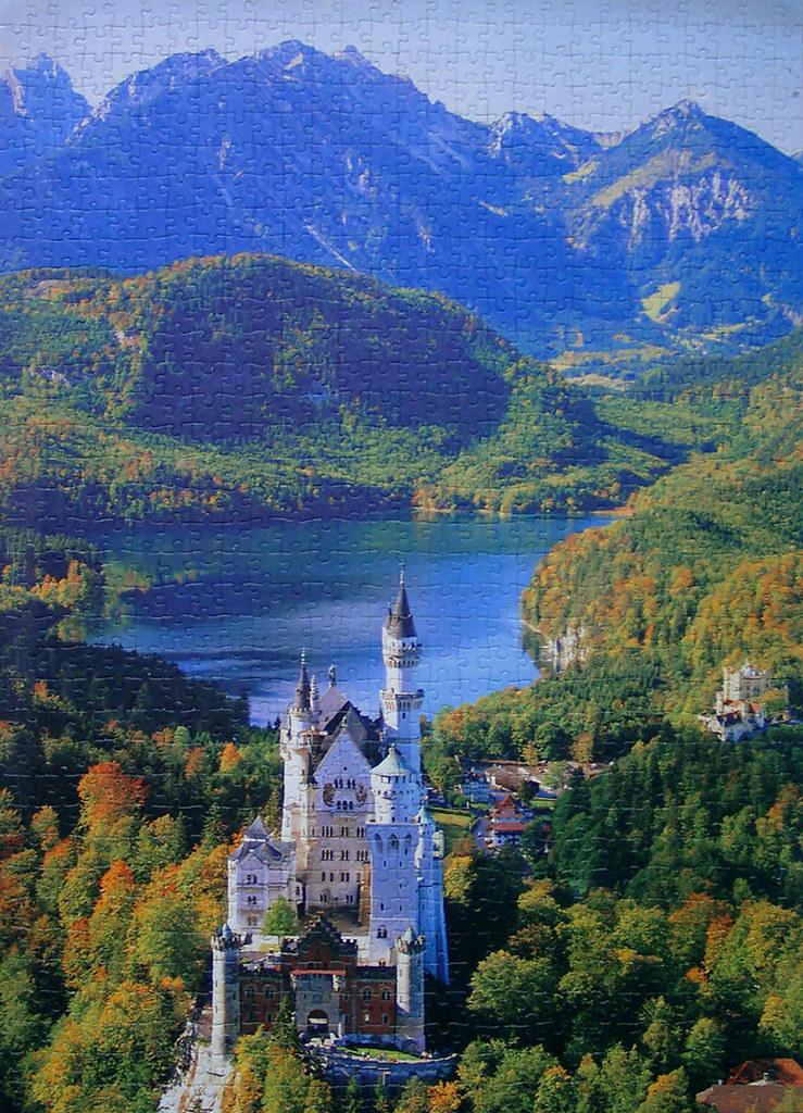 Jigsaw Puzzle 1000 Schloss Neuschwanstein Flickr Photo Sharing