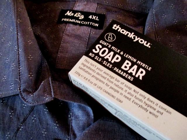 Shirt & soap