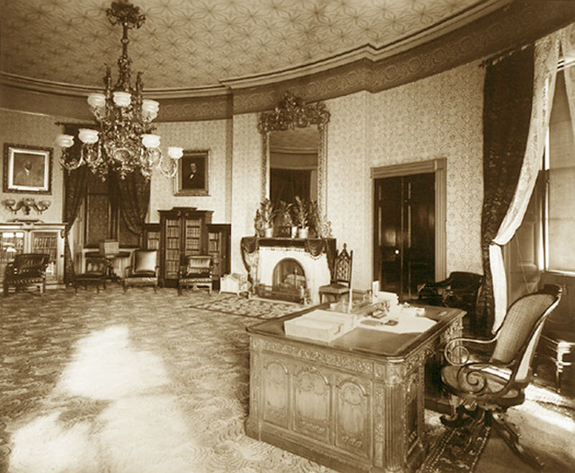 The Yellow Oval Room White House 1886 Gaswizard Flickr
