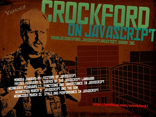 Crockford On JavaScript — Poster by Allen Rabinovich | by superfluity