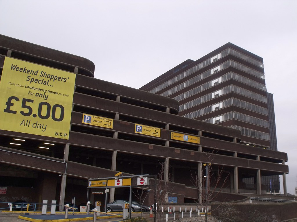 Car Parking Birmingham City Centre Bullring