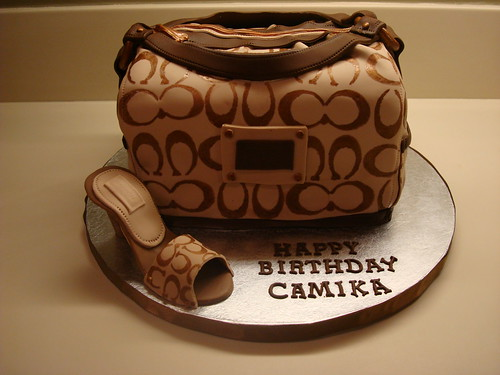 coach bag cake | by South Florida Cake Lady