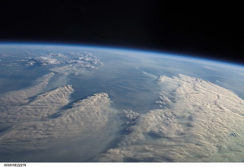 forest fires from space nasa international space station