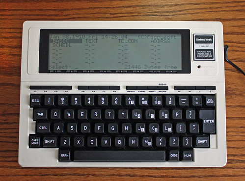 008/365 | Old Tech: TRS-80 Model 100 (Not Y2K+10 Compatible) | Project 365/2010 | by myoldpostcards