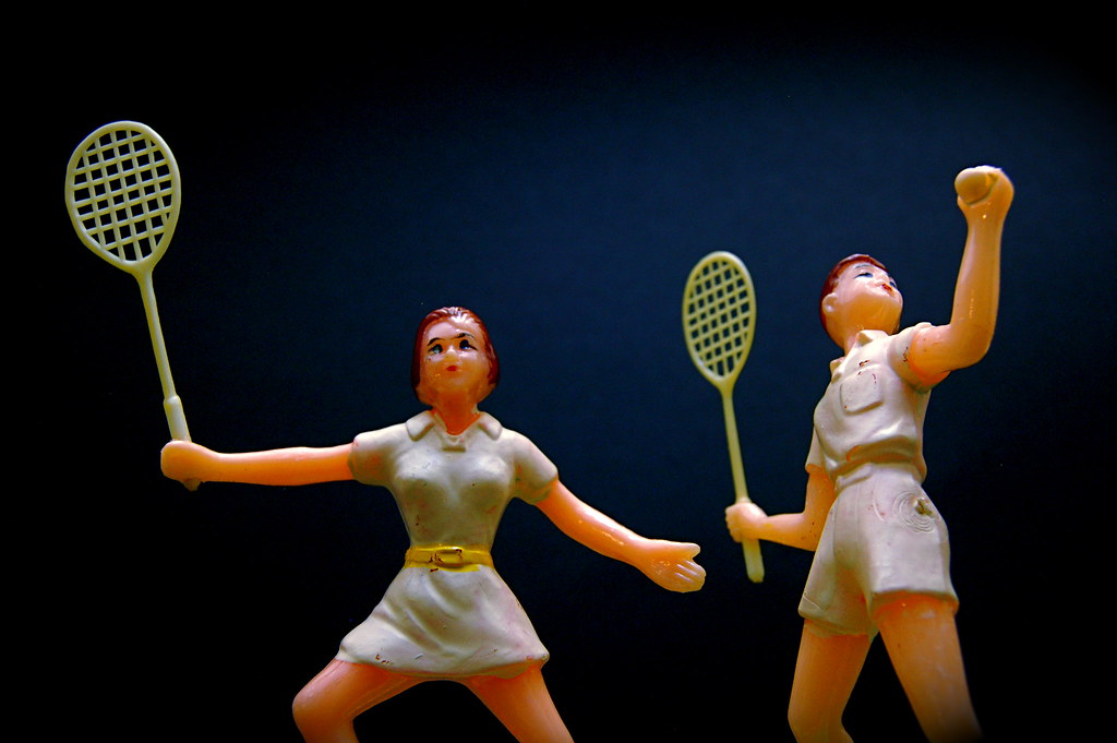 Tennis Cake Toppers