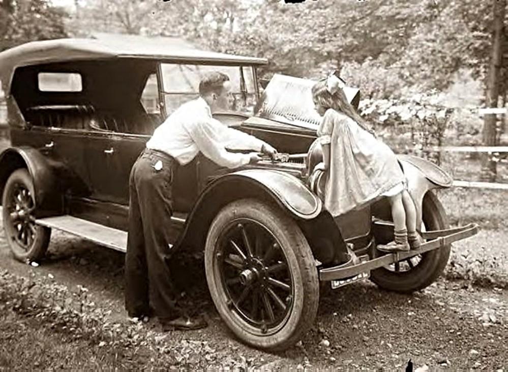 Working on car - 1920\'s | Mjr Kool | Flickr