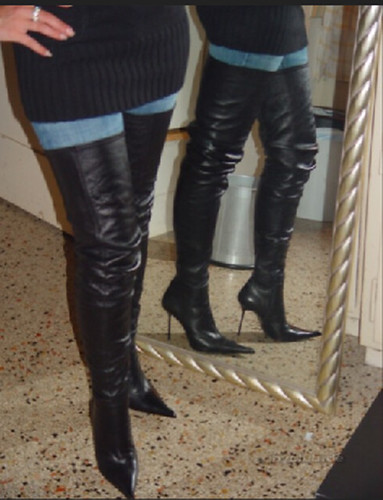 Thigh High Boots Rosina S Outfit For The New Year S