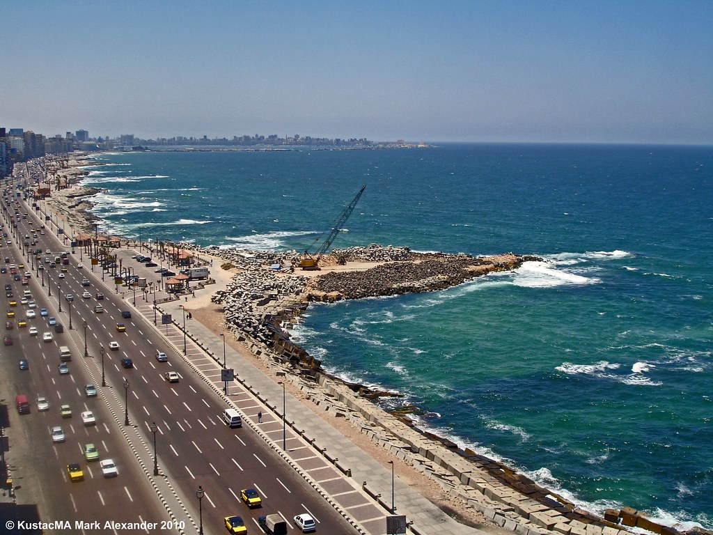 alexandria egypt on the korneesh i took this shot from my flickr