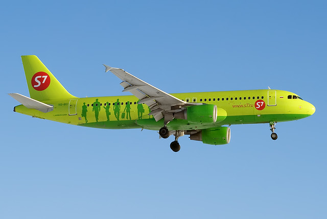 VQ-BCI S7 - Siberia Airlines  Airbus A320-214