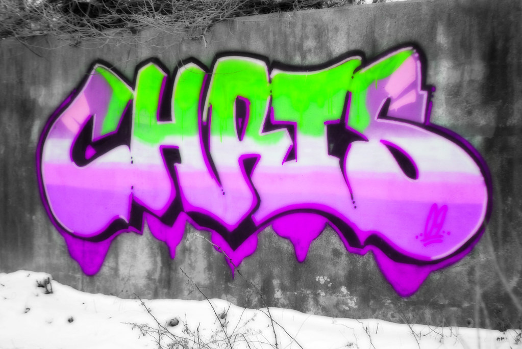 The Name Chris In Graffiti Letters