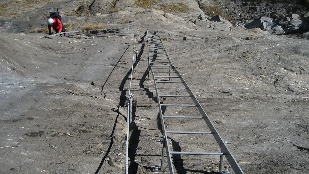 Klettersteig Zermatt : Klettersteig zermatt  sac sektion