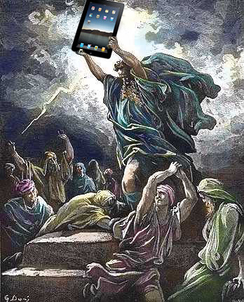 I see your Jesus Phone with a Moses Tablet | by Jamais Cascio