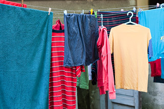 Laundry hanging out to dry | by Horia Varlan