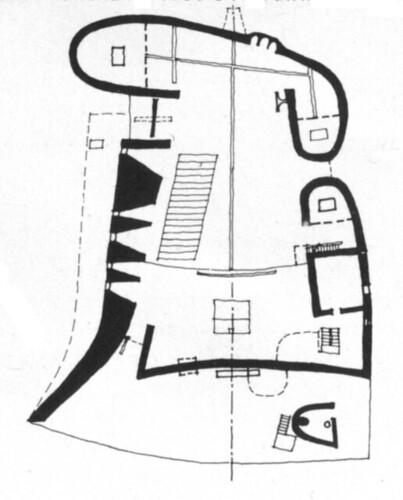Ronchamp Plan La Chapelle De Ronchamp Notre Dame Du