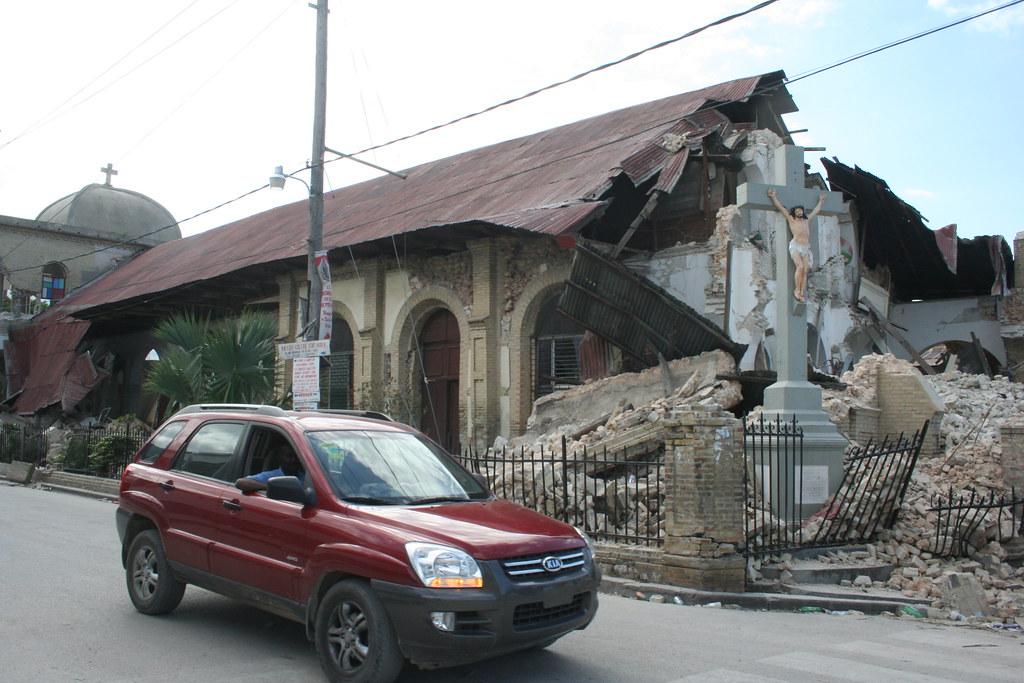 Haiti Seisme Eglise Sacre Coeur De Turgeau Liliane Pierre