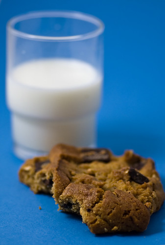 35/365 - Cookie & Milk | by catheroo (cat edens)