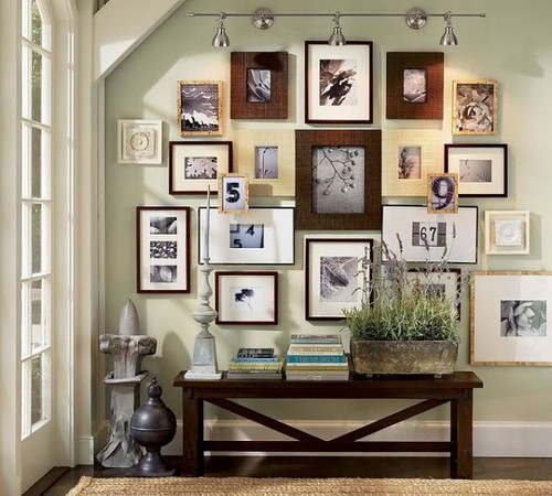 Awesome Gallery Wall | by It's Great To Be Home