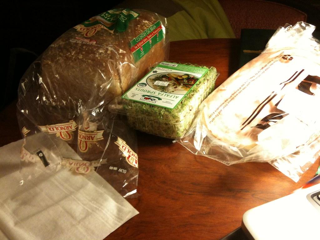 Money saving ski trip tip: bring groceries to make sandwic ...