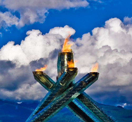 Vancouver 2010 ~ Winter Olympics ~ The Olympic Flame | by r.e. ~