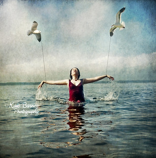 For a long time, she flew only when she thought no one else was watching ~Story People~ | by KateB.