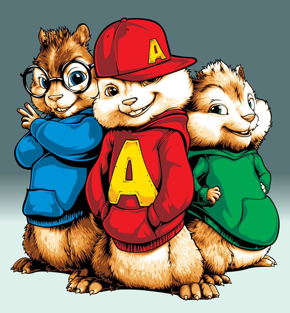 alvin and the chipmunks art | artwork of alvin and the chipm… | flickr