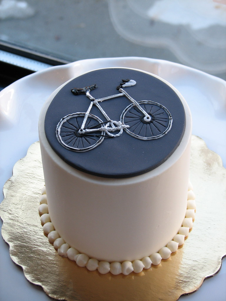 Bicycle Cake Decorations