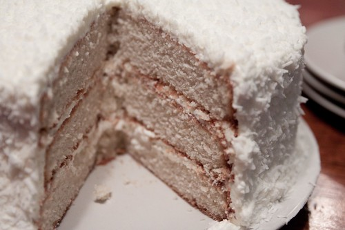 White Coconut Cake Scratch