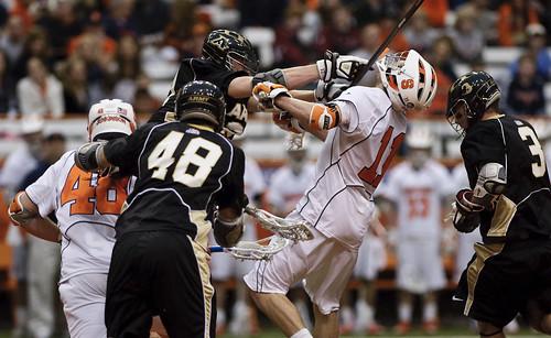 Men's Lacrosse 2010: Syracuse v. Army | Junior Joel White ...