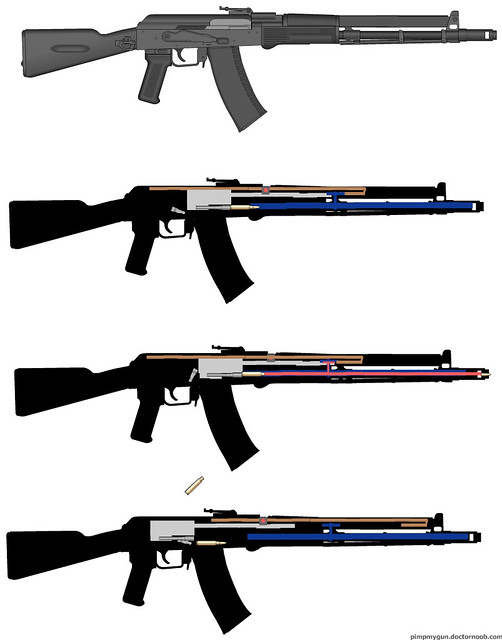 AK-107/8 firing mechanism   Ju...