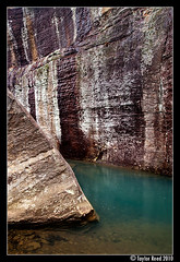 Turquoise Canyon | by Taylor Reed - ShawneeExplorer.com
