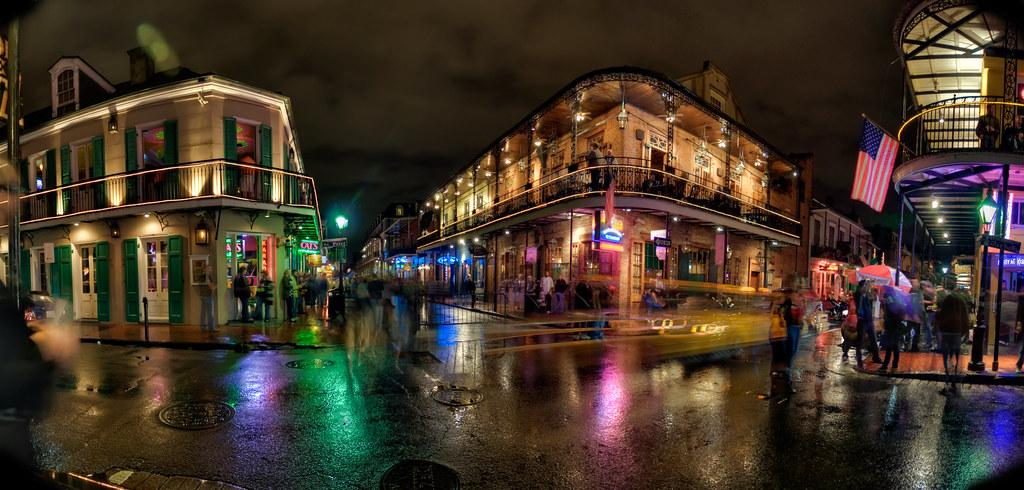 Bourbon Street Panorama