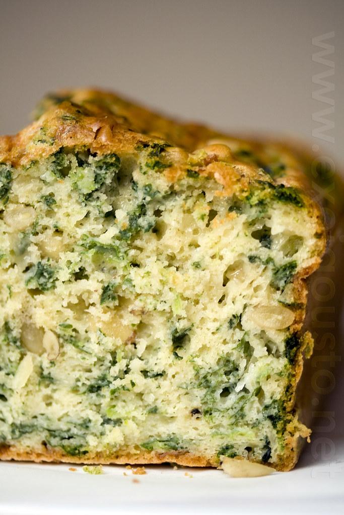 Spinach Cake Recipe