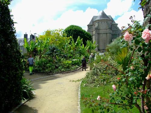 Fl neries quimper en 2008 jardin de la retraite flickr for Jardin quimper