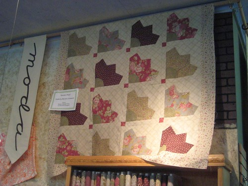 Garden party by blackbird designs for moda quilt made by for Garden party fabric by blackbird designs