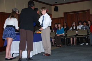 HAS students inducted into national honor society | by USAG-Humphreys