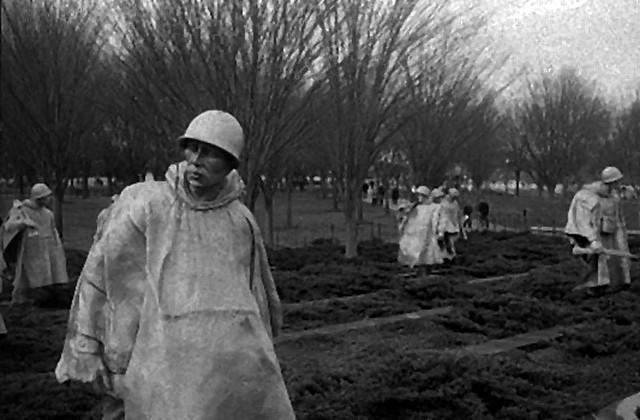 Ghost Soldiers Korean War Memorial Washington Dc