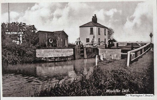 woolston lock lock with lock keepers cottage rights. Black Bedroom Furniture Sets. Home Design Ideas