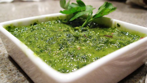Henry's Spicy Chimichurri | by NuttyKitchen