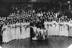Group photograph of participants at a Debutante's Ball | by State Library of Queensland, Australia