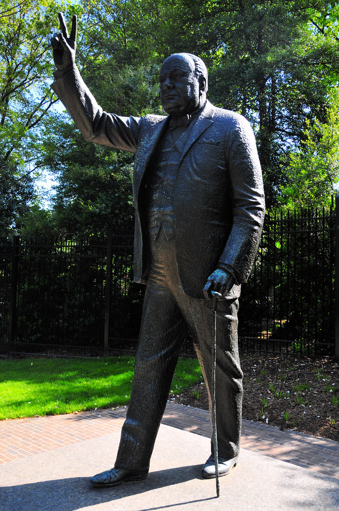 Image result for churchill's statue on embassy row