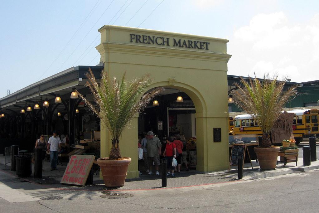 New Orleans - French Quarter: French Market - Flea Market ...
